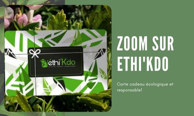 Ethi'Kdo, une carte cadeau 100% green